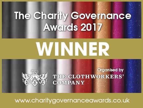Charity Governance Award winners