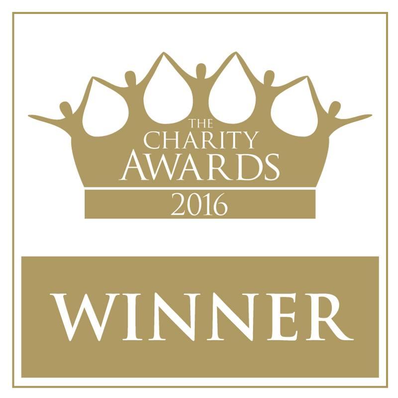National Charity Award Winners 2016
